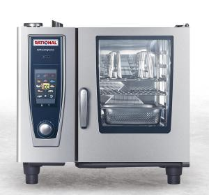 Piec konwekcyjno-parowy Rational SelfCookingCenter® whitefficiency® SCC 61G - gaz płynny 3B/P | Rational