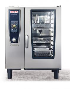 Piec konwekcyjno-parowy Rational SelfCookingCenter® whitefficiency® SCC 101G - gaz płynny 3B/P | Rational